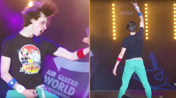 The 'World Air Guitar Championships' Are An Actual Thing, And Yes…It's Hilariously Ridiculous | Society Of Rock Videos
