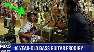 10-Year-Old Boy Was Taught By His Dad How To Play Bass – Soon After, It Was All Over The News