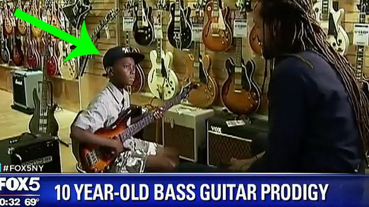 10-Year-Old Boy Was Taught By His Dad How To Play Bass – Soon After, It Was All Over The News | Society Of Rock Videos