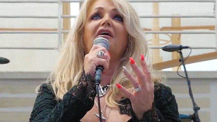 """Bonnie Tyler's """"Total Eclipse Of The Heart"""" Performance Made For One Hell Of A Solar Eclipse Soundtrack 