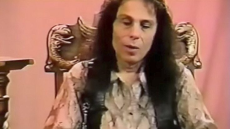 Ronnie James Dio Explaining Heavy Metal To A Non-Metal Fan Is The Coolest Thing You'll See All Day | Society Of Rock Videos