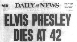 41 Years Ago: Elvis Presley Dies At 42, And Rock And Roll Loses More Than Just Its King