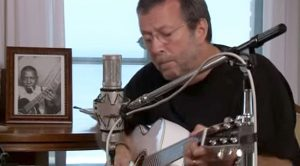 Eric Clapton Sets Up Recording Gear In His Own Home And Pays Tribute To A Blues Legend