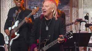 Joe Walsh Crashed The Colbert Show And Brought The Damn House Down
