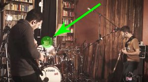 "Friends Come Together To Play ""Little Wing"", But Keep Your Eye On This Left-Handed Drummer"