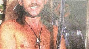We've Just Found A Picture Of This Rock Legend As Half-Naked Samurai And We Can't Stop Laughing!