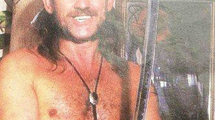 We've Just Found A Picture Of This Rock Legend As Half-Naked Samurai And We Can't Stop Laughing! | Society Of Rock Videos