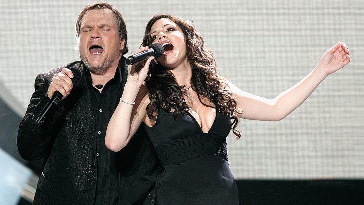 "Love Reigned Supreme When Meat Loaf And Katharine McPhee Sang ""It's All Coming Back To Me"" 