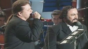 It's A Night At The Opera When Meat Loaf & Luciano Pavarotti Team Up For This Breathtaking Operatic Duet