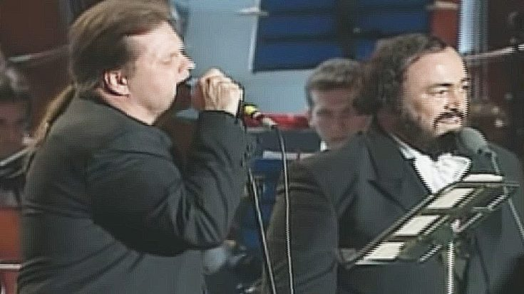 There's Magic In The Air When Meat Loaf & Luciano Pavarotti Team Up For This Breathtaking Operatic Duet