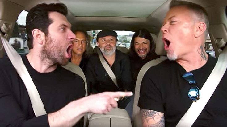Metallica Made The Best 'Carpool Karaoke' Teaser Ever And Everyone Wants To Watch Their Episode | Society Of Rock Videos