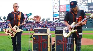 Metallica Celebrate Giants' 5th Annual 'Metallica Night' By Shredding High Octane National Anthem
