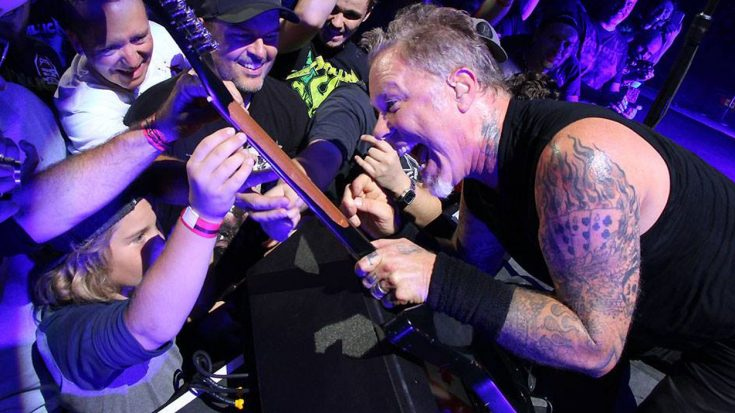 It's Been A While Since We've Seen Metallica Have This Much Fun Onstage, But It Was Worth The Wait   Society Of Rock Videos