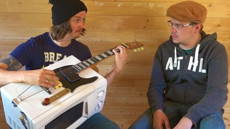 He Turned His Microwave Into A Guitar, And Even HE'S Amazed By How Great It Sounds | Society Of Rock Videos