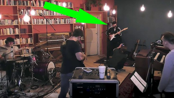 "Friends Record ""No Quarter"" In Home Studio, But Keep Your Eye On The Guitar Player 