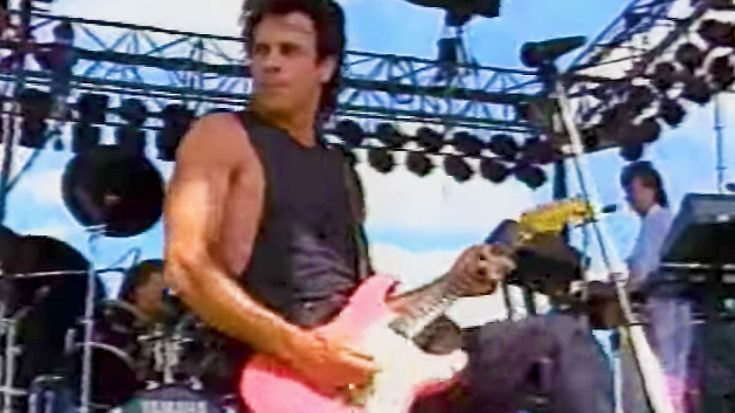 1985: Rick Springfield Performs 'Jessie's Girl' In Front of 75,000 People, & It's The Best Thing Ever! | Society Of Rock Videos