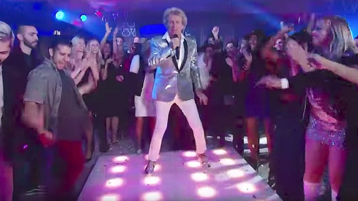 "Rod Stewart Sang ""Da Ya Think I'm Sexy"" And Stole Everyone's Thunder On Last Night's VMA's"