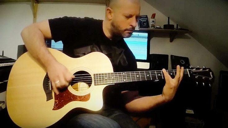 You May Not Think It's Possible, But This Guy Just Played Slayer… On An Acoustic Guitar