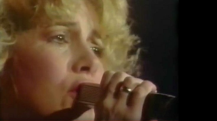 1981: Stevie Nicks Closes Her First Solo Tour –  Her Reaction After The Last Song? Simply Priceless | Society Of Rock Videos