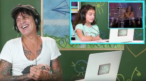 Tommy Lee Reacts To Kids Watching Mötley Crüe For The First And He Just Can't Stop Laughing