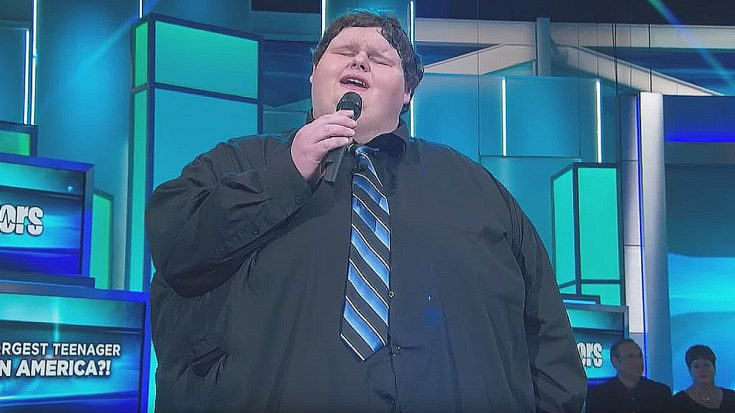 "This Teen Went On TV And Sang ""Amazing Grace"" – Minutes Later, He Went Viral… 
