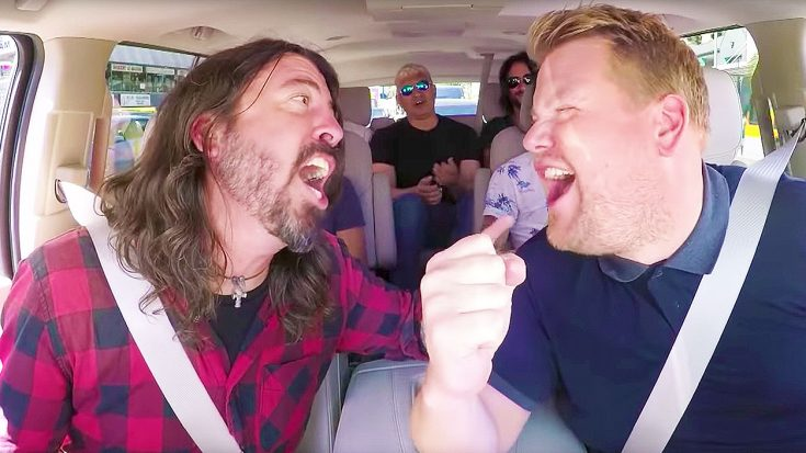 Foo Fighters Make Long-Awaited 'Carpool Karaoke' Appearance, & It's Better Than We Ever Imagined! | Society Of Rock Videos