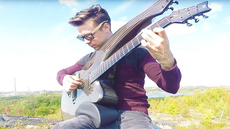 Rush's 'Closer To The Heart' Is Covered On A Harp Guitar, & You Won't Believe How Incredible It Sounds! | Society Of Rock Videos
