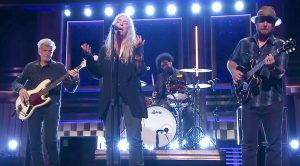 Patti Smith Hits The Tonight Show With An Epic, Rallying Performance of Her Classic 'People Have The Power'