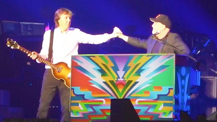 Billy Joel Crashes Paul McCartney's Join In On An Epic Duet of 'Get Back,' & It's Too Perfect! | Society Of Rock Videos