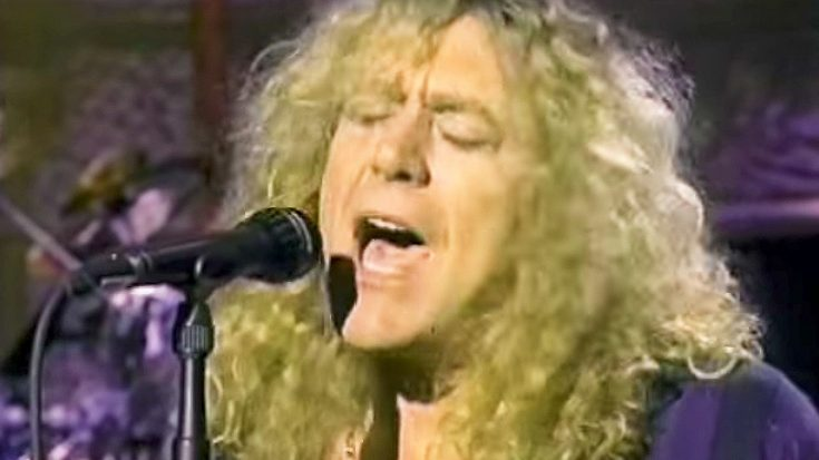 1993: Robert Plant Treats David Letterman's 'Late Night' To A Rousing Performance of '29 Palms' | Society Of Rock Videos