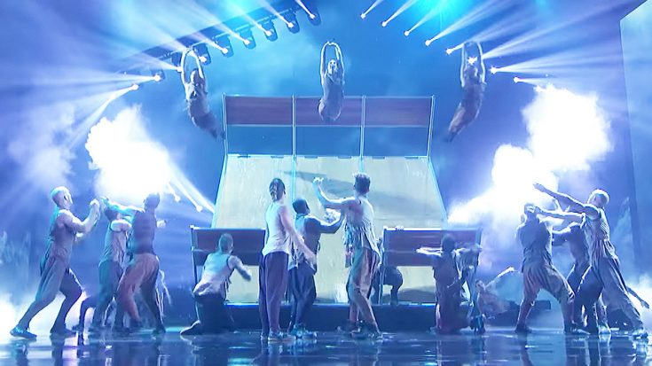 Acrobatic Dance Group Takes AGT By Storm With Stunning Dare-Devil Dance to 'In The Air Tonight'!   Society Of Rock Videos