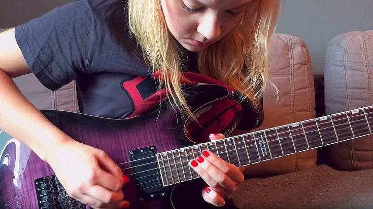 The Way This Young Girl Shreds This Metal Song Is Just Beyond Epic! | Society Of Rock Videos
