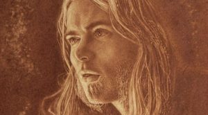 Artist Debuts Stunning Portrait Of Gregg Allman, But Look Closely: That's Not Paint You're Seeing…