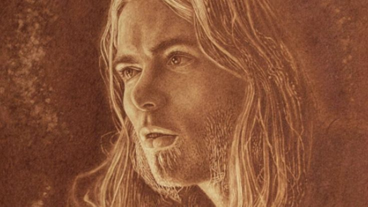 Artist Debuts Stunning Portrait Of Gregg Allman, But Look Closely: That's Not Paint You're Seeing… | Society Of Rock Videos