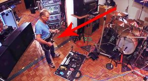 Footage Leaks Of Eddie Van Halen Shredding In His Home Studio, & It's Just Too Good For Words!