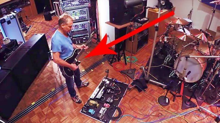 Footage Leaks Of Eddie Van Halen Shredding In His Home Studio, & It's Just Too Good For Words! | Society Of Rock Videos