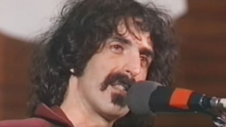 Ladies And Gentlemen… Frank Zappa Is About To Become A Hologram