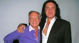 Gene Simmons Says Goodbye To Hugh Hefner