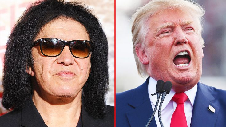 Gene Simmons Sounds Off On Donald Trump After The President's Latest Actions…. | Society Of Rock Videos