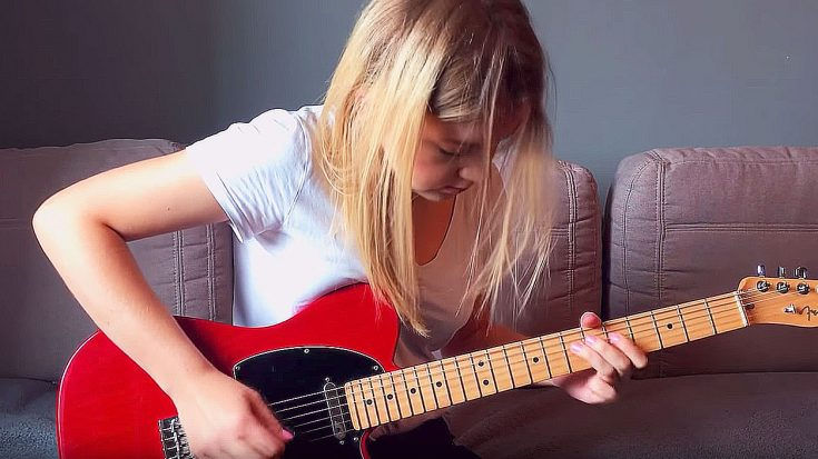 "Gorgeous Girl Goes To Play The Solo To ""Stairway To Heaven"", But We Were Stunned When She Started Playing 