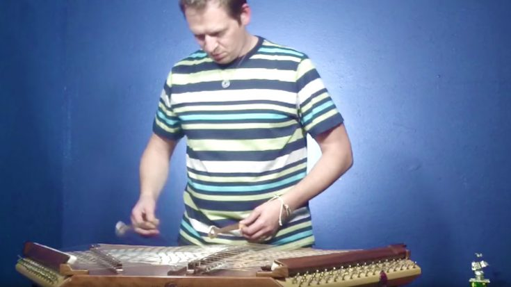 "He Plays Eagles' ""Hotel California"" On Hammered Dulcimer 
