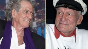 Twitter Can't Stop Cracking Up Over Keith Richards' Ultra Cheeky Tribute To Hugh Hefner