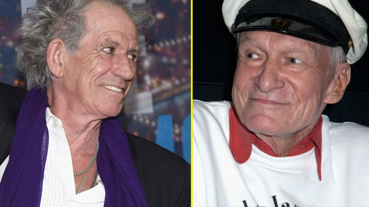 Twitter Can't Stop Cracking Up Over Keith Richards' Ultra Cheeky Tribute To Hugh Hefner | Society Of Rock Videos