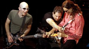 Ever Seen Three Guitar Gods Shred At Lightning Fast Speed At The Same Time? Well, Today's Your Lucky Day
