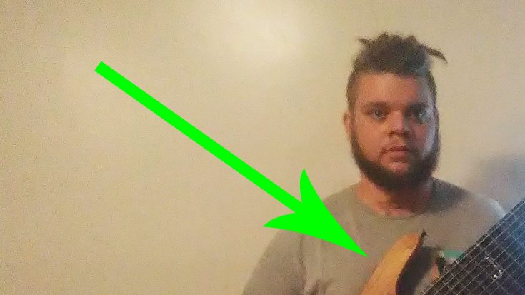 This Guy Just Made A 17-String Guitar And It Looks Freaking Absurd…