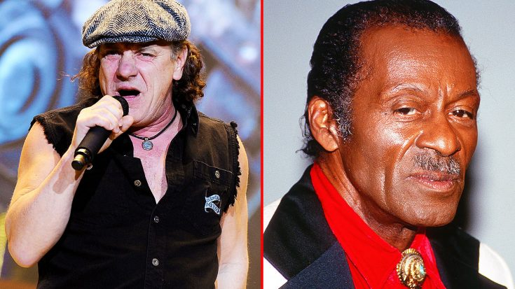 Brian Johnson Once Asked Chuck Berry For An Autograph, & The Story Behind It Is The Funniest Thing Ever! | Society Of Rock Videos
