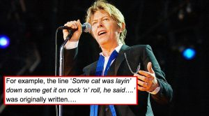 David Bowie's Original Lyrics For 'Starman' Have Leaked, & It'll Change Your Entire Perspective of the Song!