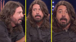 In An Interview, Dave Grohl Gets The Surprise Of A Lifetime – His Reaction Is Priceless!