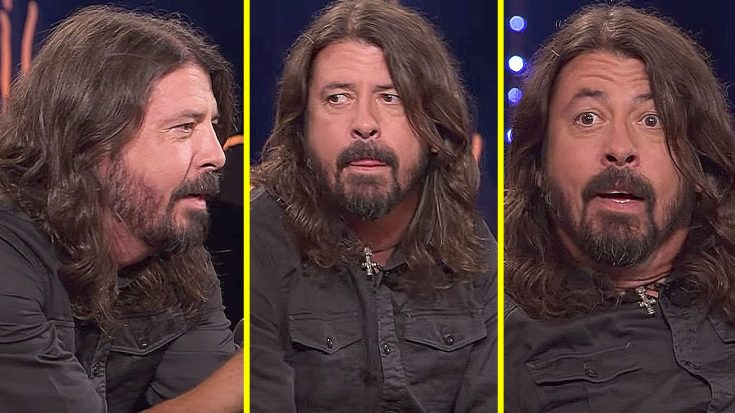 In An Interview, Dave Grohl Gets The Surprise Of A Lifetime – His Reaction Is Priceless! | Society Of Rock Videos