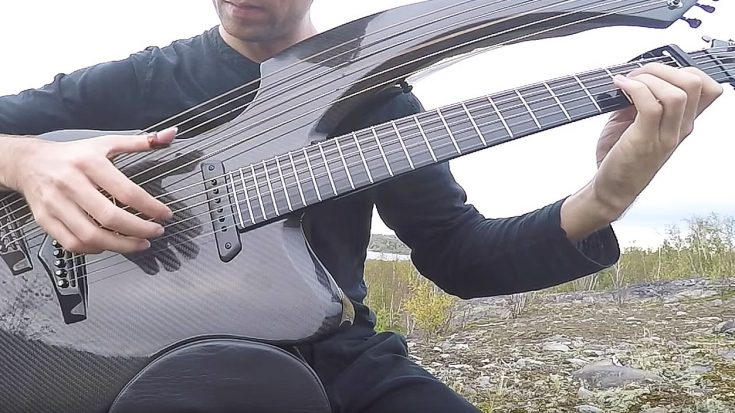 "With Help From His Unique Harp-Guitar, This Guy Beautifully Recreates ""Free Fallin'"" In Honor Of Tom Petty 